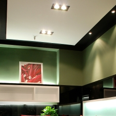 Corner LED Lights and Downlights