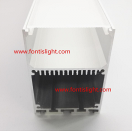 Aluminum LED profile for Surface Mounting Or pendant light with Internal driverFL-ALP5070