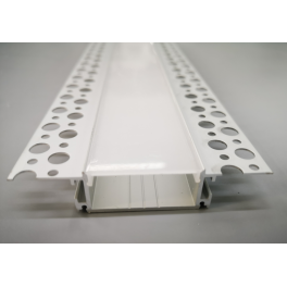 ALP081 Recessed Aluminium LED profile for drywall use