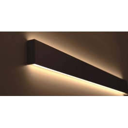 Wall Mounted by clip Led wall up and down Linear Light ALP049-S